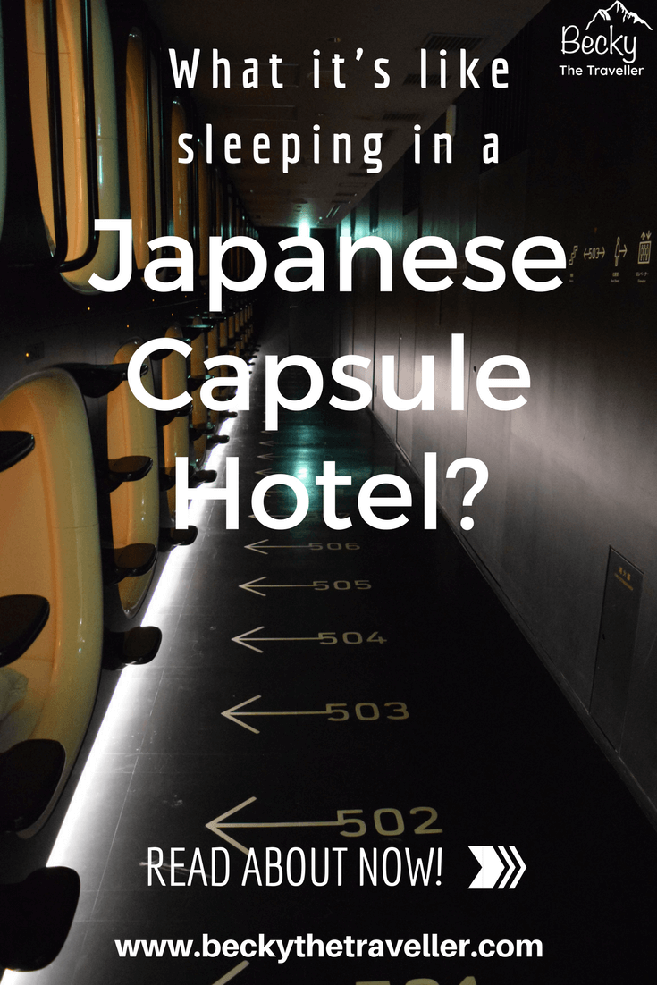 Capsule Hotel in Kyoto - Sleeping in a Japanese capsule hotel