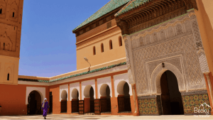 Mosque in Marrakech Morocco - Marrakesh guide - tips for solo female travellers