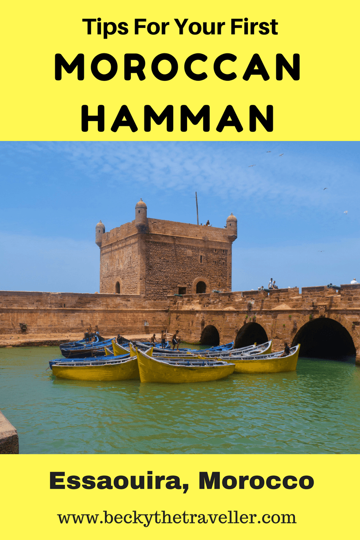 Moroccan Hamman Experience - Read about my experience at my first Moroccan Hamman. Including what to wear and what to expect. Spa | Morocco | Essaouira | Experience