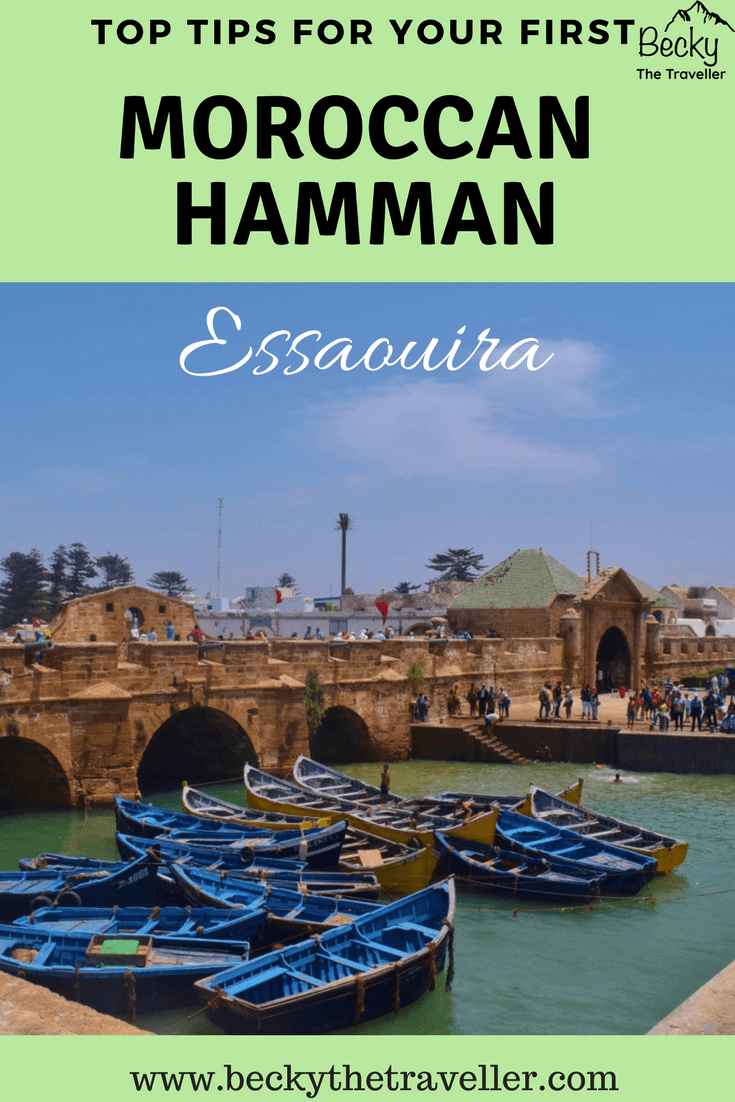 First Moroccan Hamman Essaouira - harbour at Essaouira