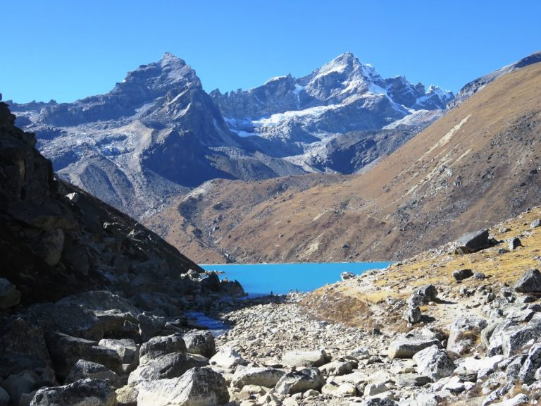Gokyo Lakes in Nepal - tips for preventing altitude sickness