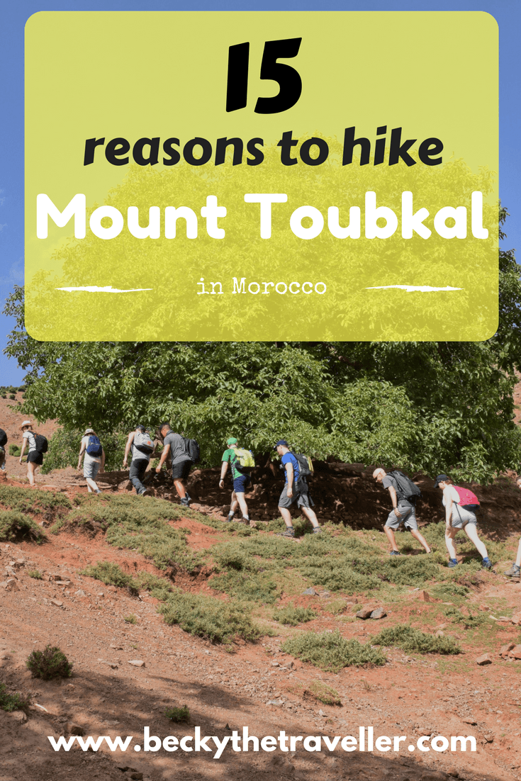 Mount Toubkal Trek in Morocco - Mount Toubkal in the Atlas Mountains is Morocco's highest mountain. Check out these great reasons to add this hiking challenge to your bucket list. Trekking | Mountains | Adventure | Challenge | Toubkal trekking | Toubkal trek | Atlas Mountain trekking | Atlas Mountain Trek