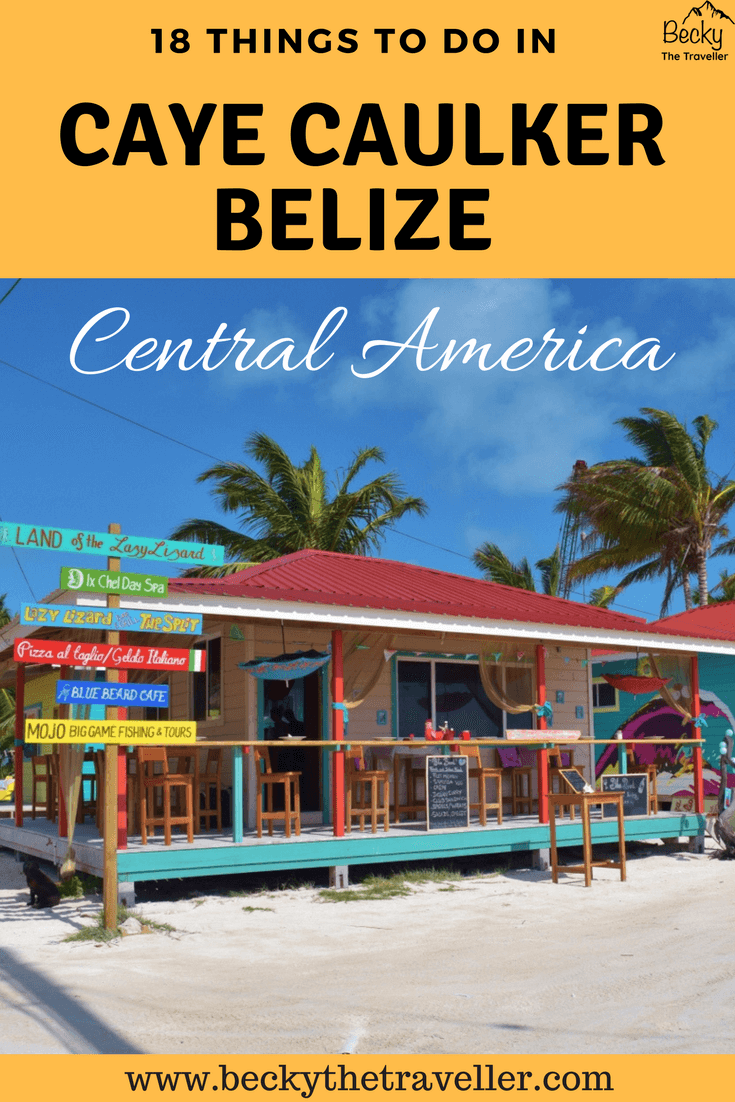 Things to do in Caye Caulker Belize