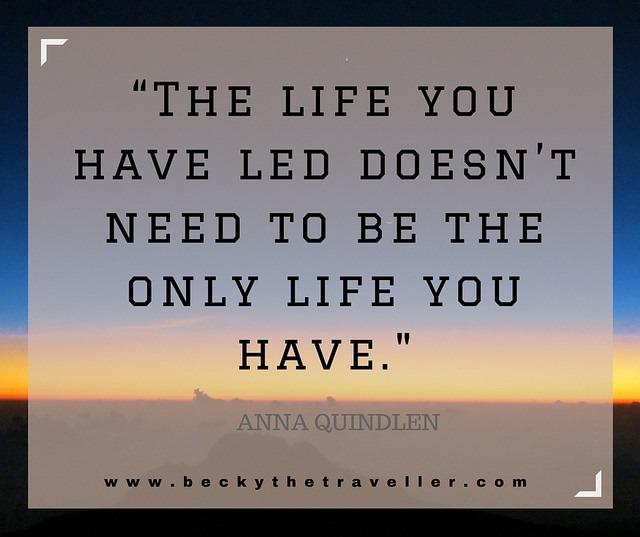 Travel quotes - Anna Quindlen