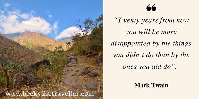 Travel quotes - Mark Twain