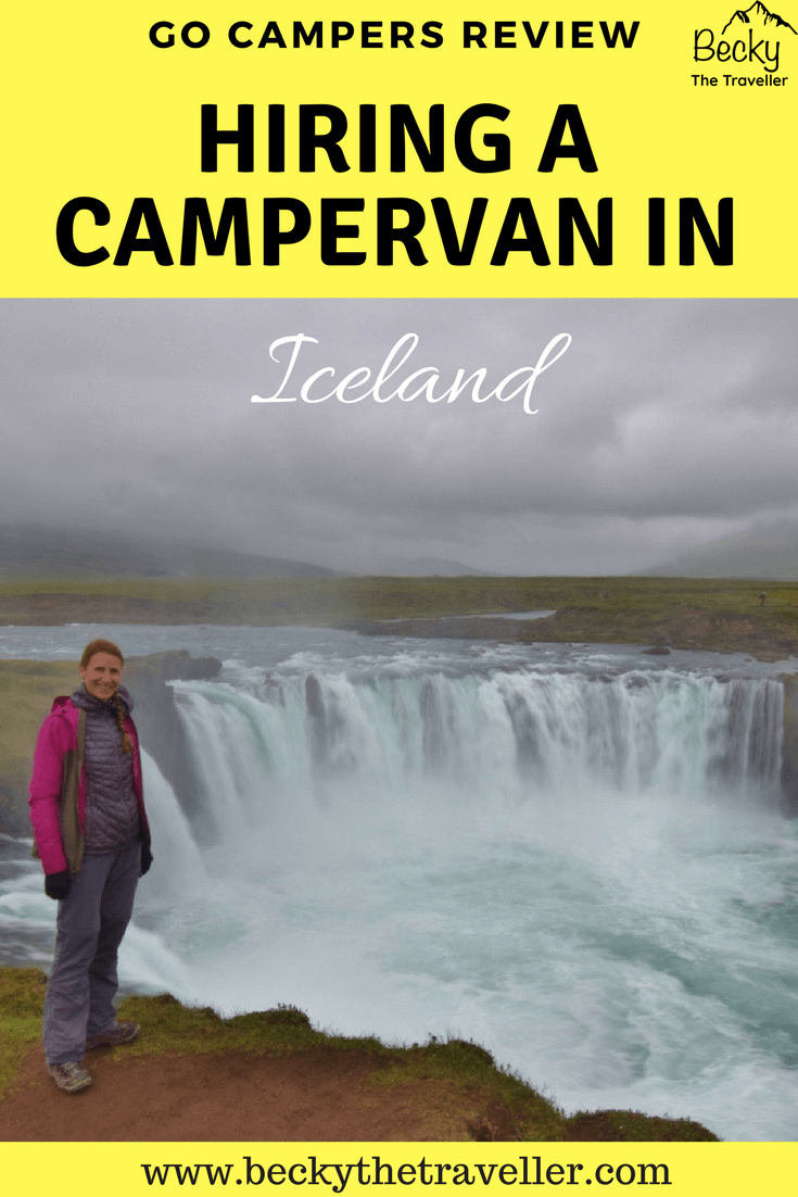 Go Campers review - hiring a campervan in Iceland - Waterfall