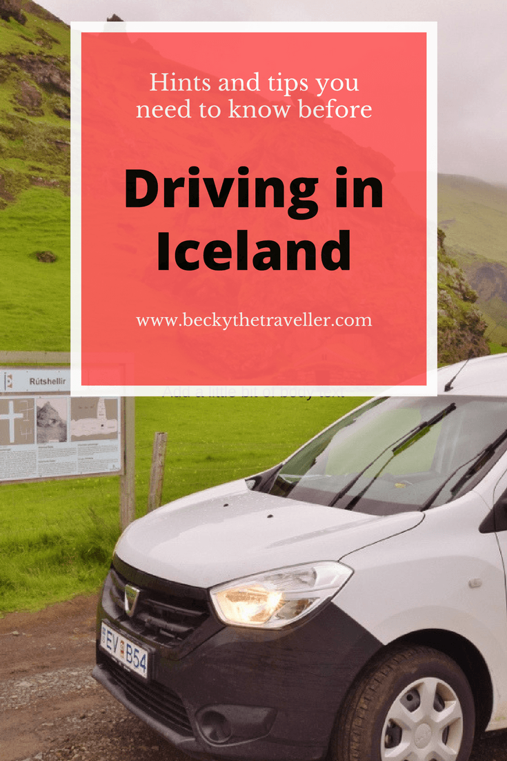 Planning a trip to Iceland? A great way to get around is by hiring a car or campervan. Read my useful hints and tips before driving in Iceland. Road trip in Iceland | Driving tips | Iceland's road | Tips for driving in Iceland | Iceland road laws | Campervan life | 4 WD in Iceland |