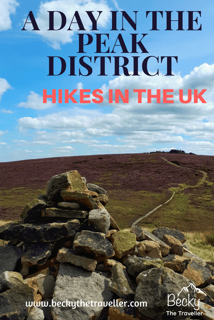 Looking for a beautiful day hike in the Peak District in Derbyshire, UK.? Detailed one day hike walking along the beautiful Derwent Edge, taking in the view. Back via Ladybower Reservoir. A day hiking in the Peak District in Derbyshire, UK. A full day hike but options for shorter hikes if required. Full route with OS maps included. United Kingdom | England | Peak District National Park | Derbyshire | Walks in the UK | Hiking days out | Family hikes | Get outdoors