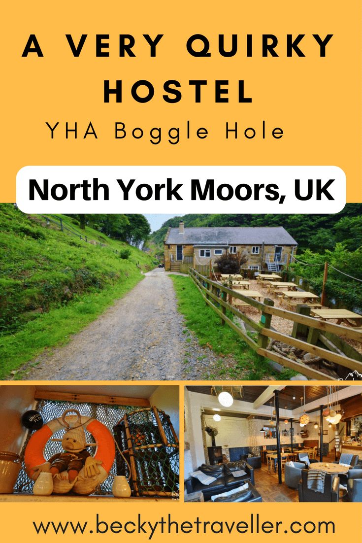 YHA Boggle Hole is a very unique hostel in the North York Moors. It looks out on to the North Sea and is hidden in a cove between Robin Hood's Bay and Ravenscar. The hostel includes a licenced bar, cakes, plus meals and packed lunch. The new accommodation in the Crow's Nest has been designed to be sustainable with solar panels. A wonderful place to stay for solo travellers, families and groups.