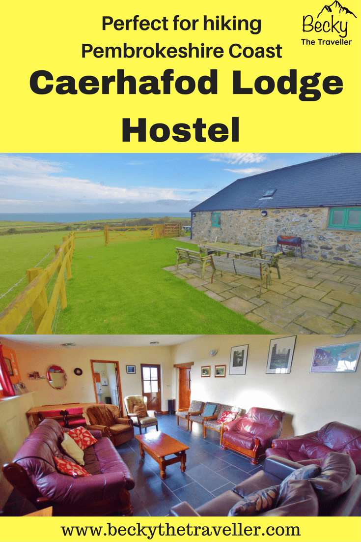 3 nights at Caerhafod Lodge, Pembrokeshire Coast in Wales. A full review on the accommodation from Becky the Traveller. If you are looking for somewhere to stay on budget this hostel is a great option. It's also close to the Pembrokeshire Coastal path. Perfect for hiking, walking, running and even cycling (although not on the path!) Based in the United Kingdom. Perfect for groups, solo travellers, and families.