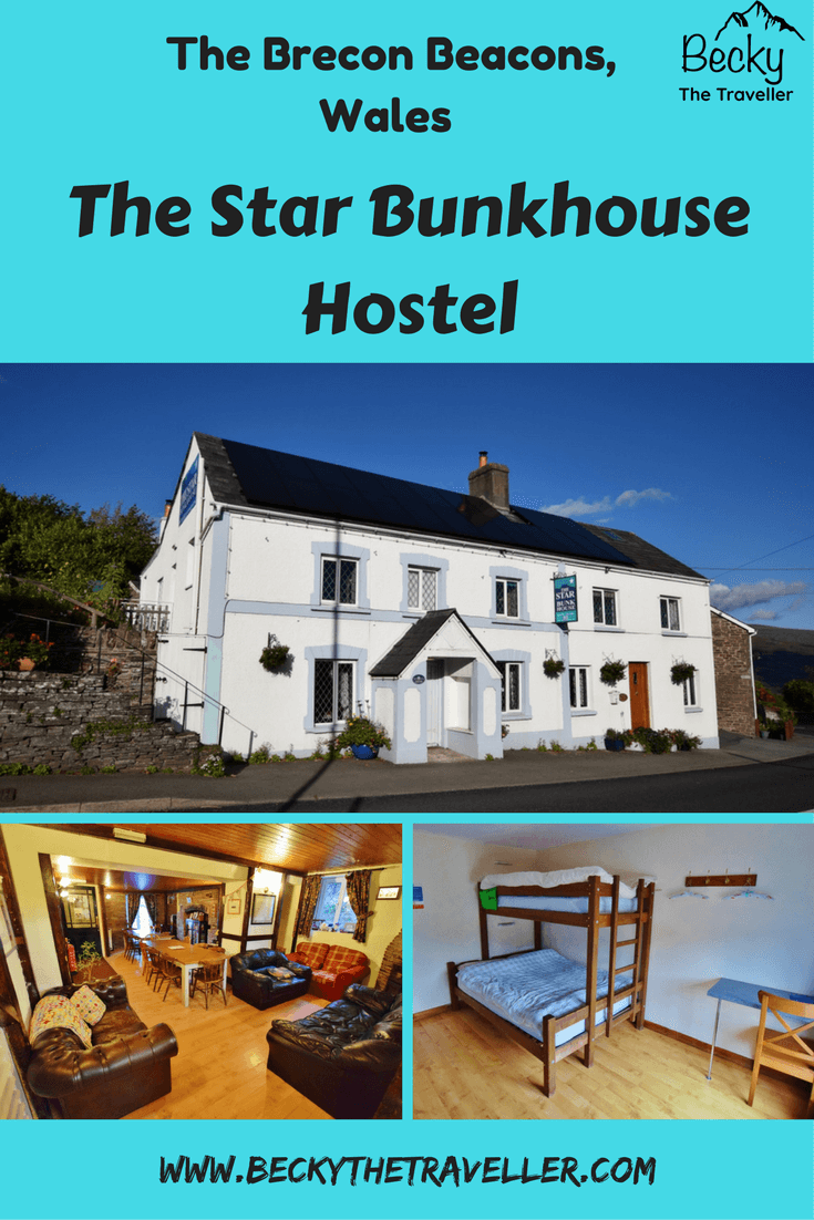 The Star Bunkhouse, Brecon Beacons in Wales. Hostel style accommodation with a shared kitchen and lounge area. Perfect for families, solo travellers and groups. Can also be hired out for one group. Read my full review on my stay at the Bunkhouse in Bwlch. Budget accommodation | Where to stay | UK | United Kingdom