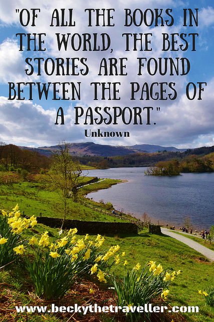Travel quotes - Lake District photo