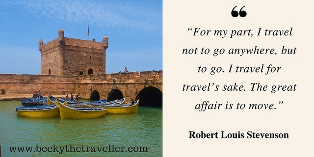 Travel quotes - Morocco photo