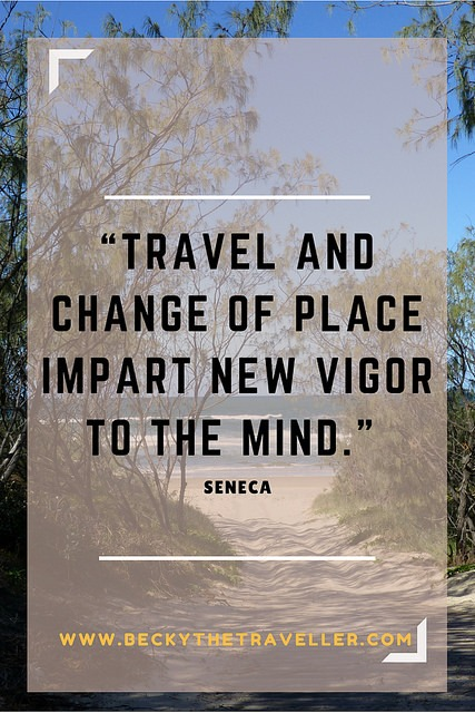 Travel quotes - Travel and change of place...