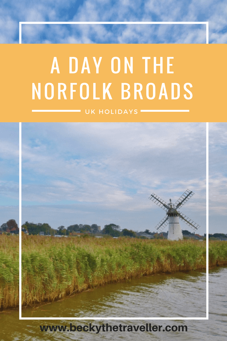 Hiring a writer boat on the norfolk broads