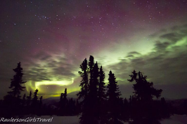 Best place to see the Northern Lights in Fairbanks, Alaska