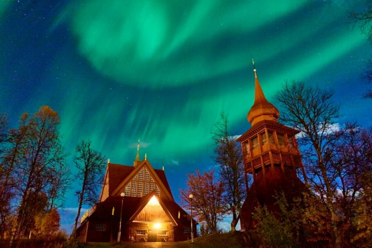 Best place to see the Northern Lights - Kiruna in Sweden