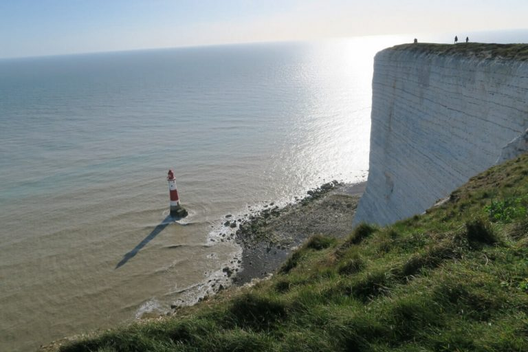 Hiking UK - a day hike at Seven Sisters South Downs Way, UK