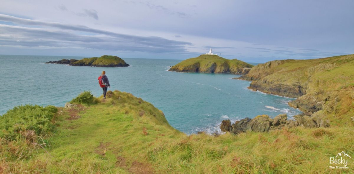 Views to Strumble Head Lighthouse