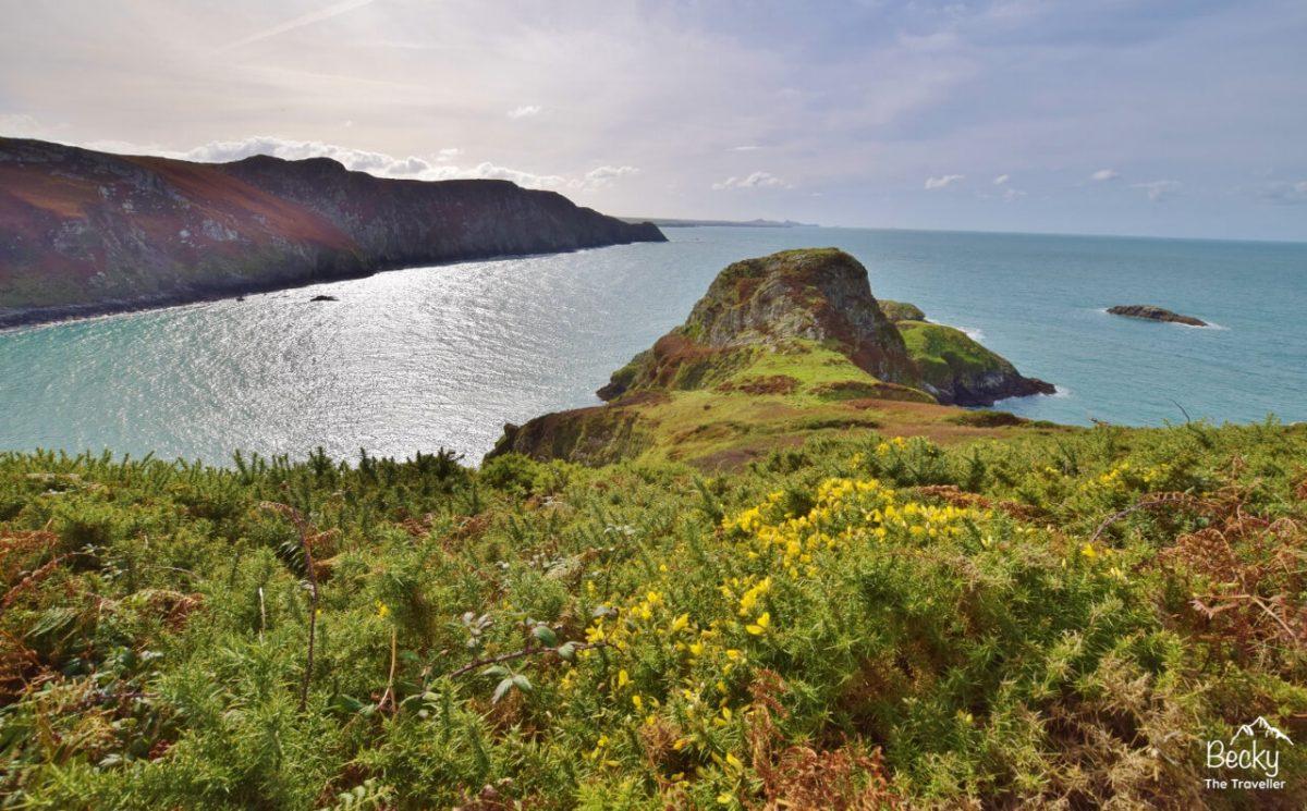 Walk along the Pembrokeshire Coast National Park