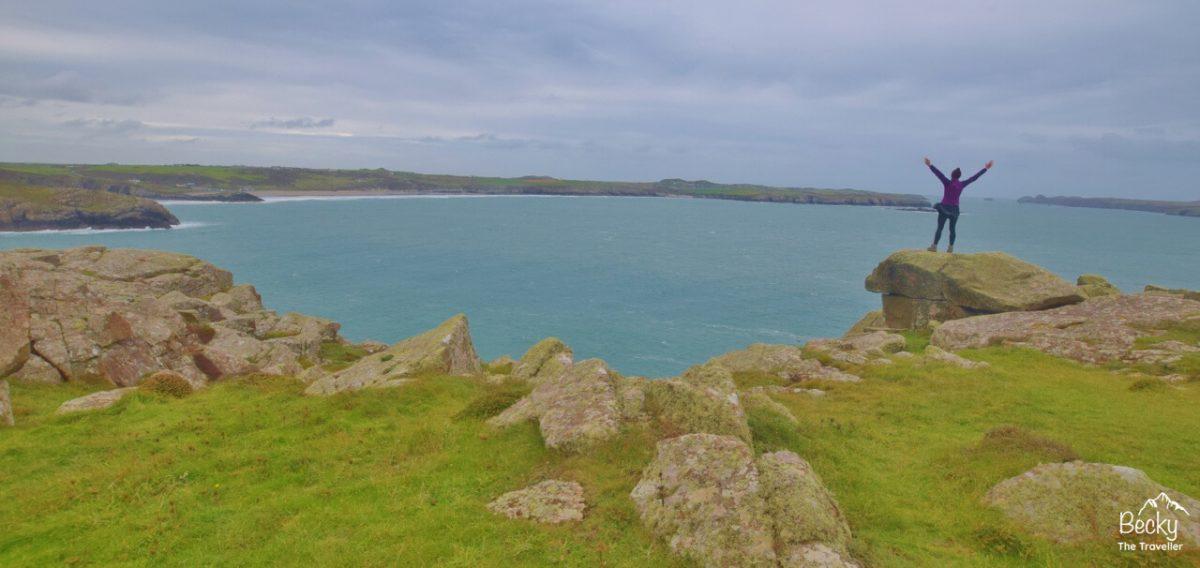 St Davids Head on the Pembrokeshire Coast