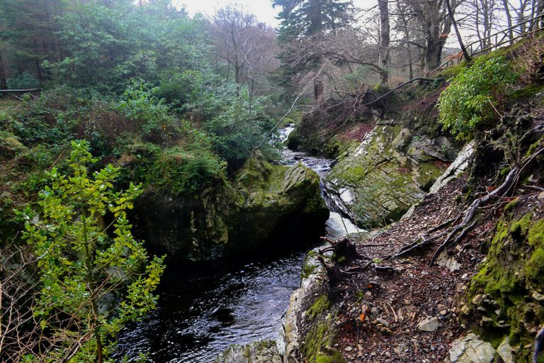 Hiking UK - a day hike at Tollymore Forest, Mourne Mountain, UK