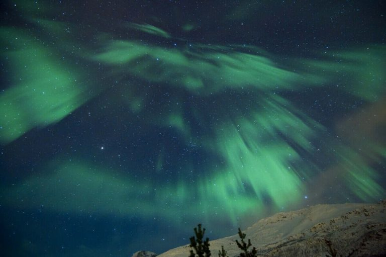 Best place to see the Northern Lights in Tromsø, Norway