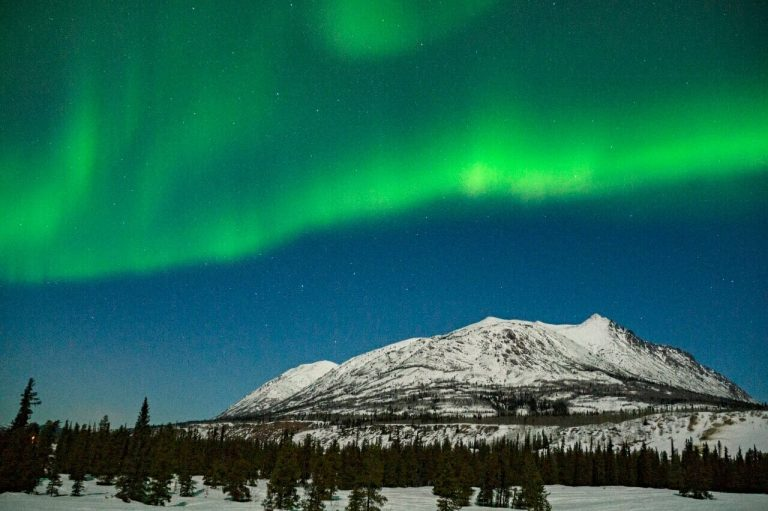 Best place to see the Northern Lights in Yukon, Canada