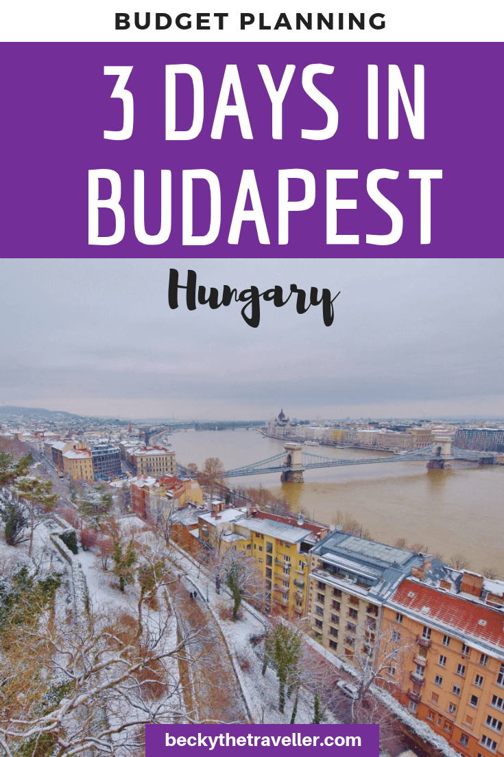 3 days in Budapest Hungary - budget planning + itinerary-2