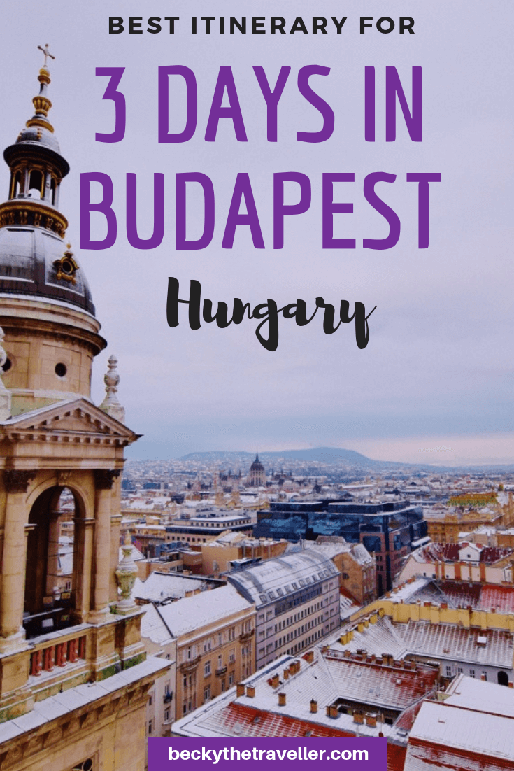 3 days in Budapest Hungary - budget planning + itinerary
