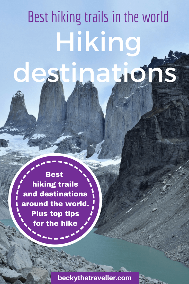 Best hiking trails and destinations in the world