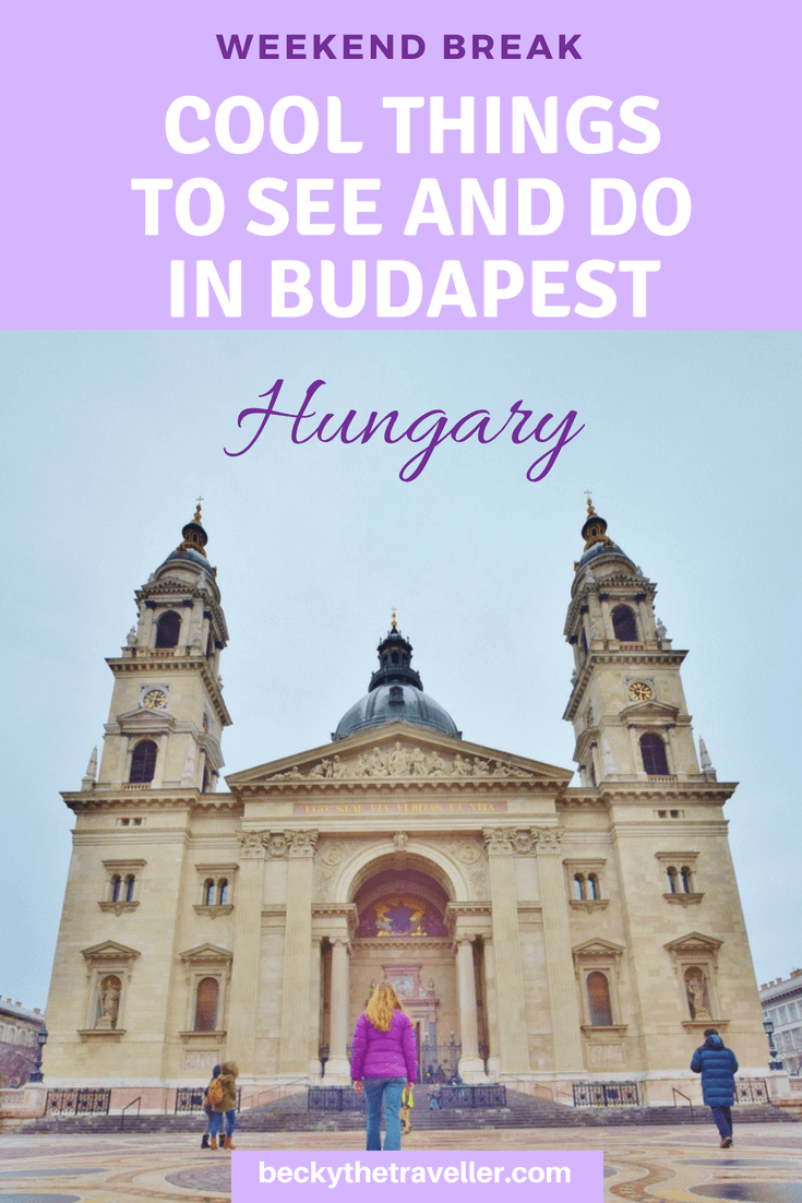 St Stephen's Basilica - Budapest cool things to do and places to visit, plus free attractions