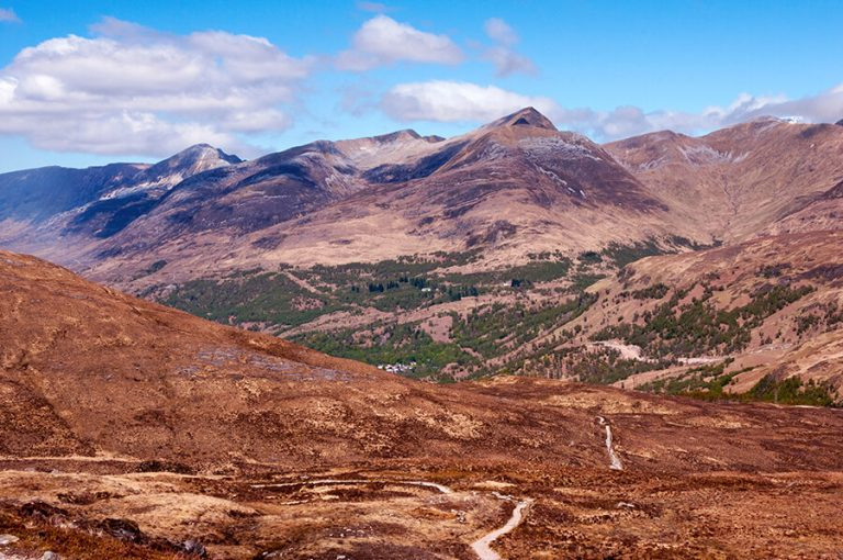West Highland Way - hike towards Kinlochleven