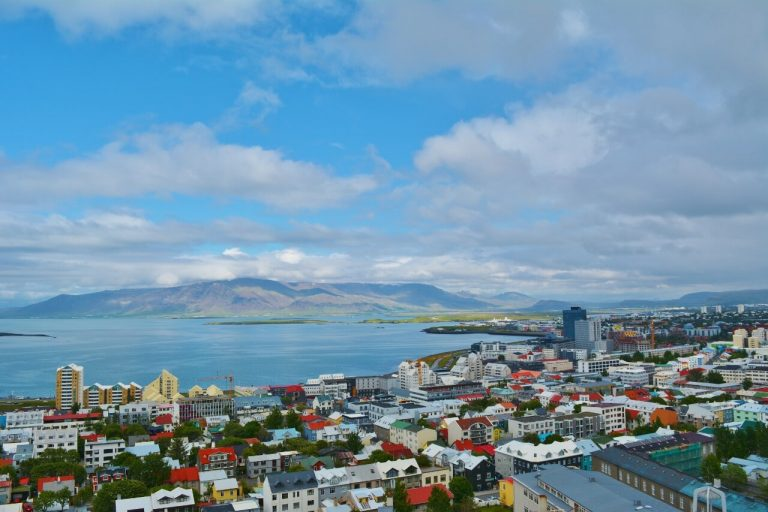 View of Reykjavik from Hallgrimskirkja Church Observation tower - Things to do in Reykjavik