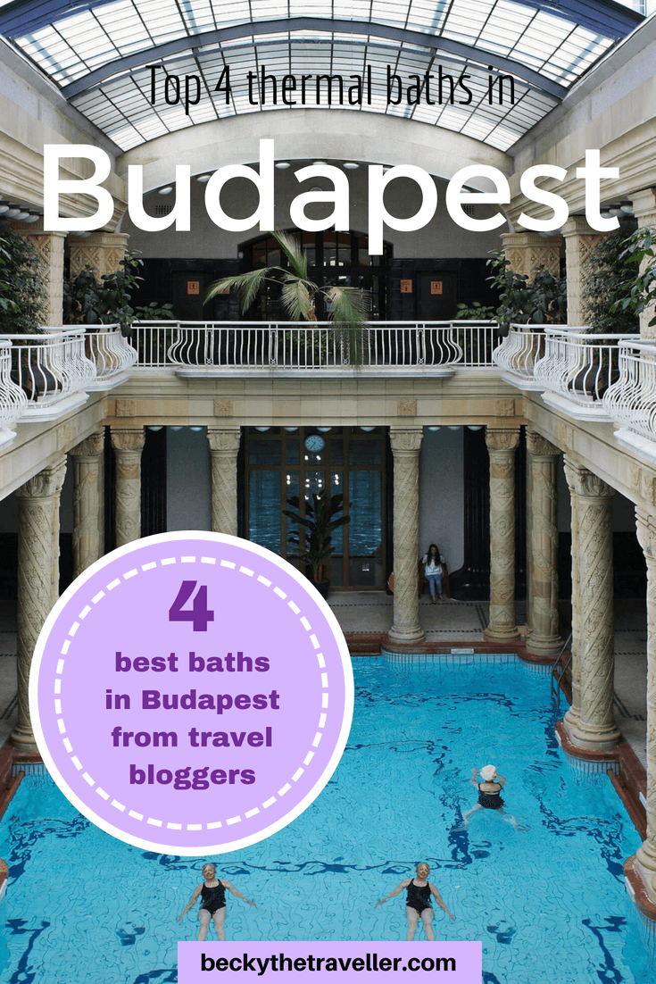 Swimming pool inside at Rudas Baths - Best baths in Budapest