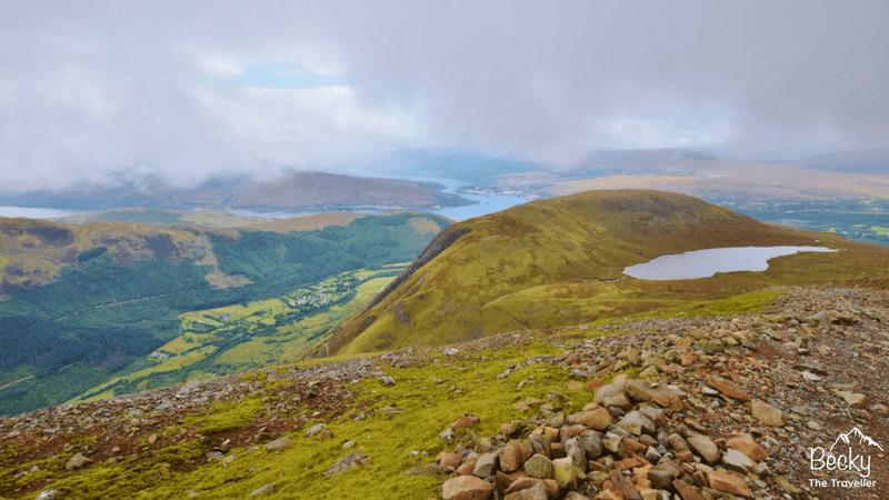 Climbing Ben Nevis