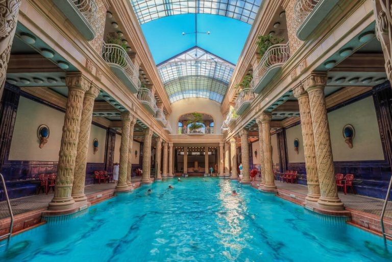 Best baths in Budapest - Gellert baths in Budapest