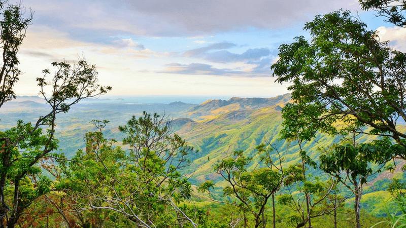 Mount Tomanivi in Fiji