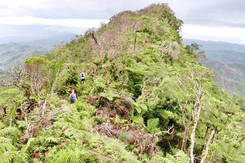 HIking Mount Tomanivi - the highest mountain in Fiji
