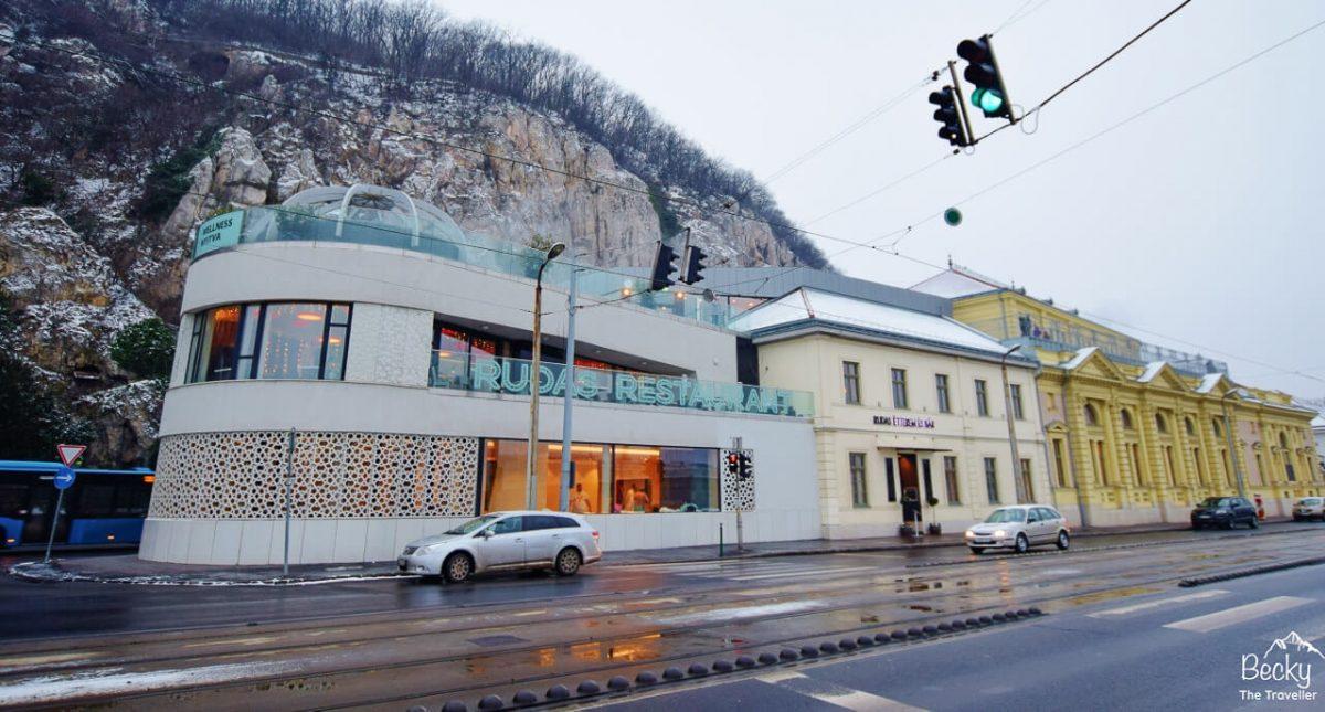 Rudas Baths - Best baths in Budapest