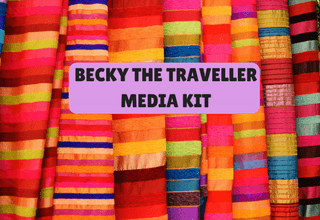 Media Kit - Becky the Traveller