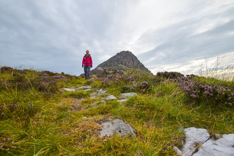 Hiking in Snowdonia in the Berghaus Paclite jacket