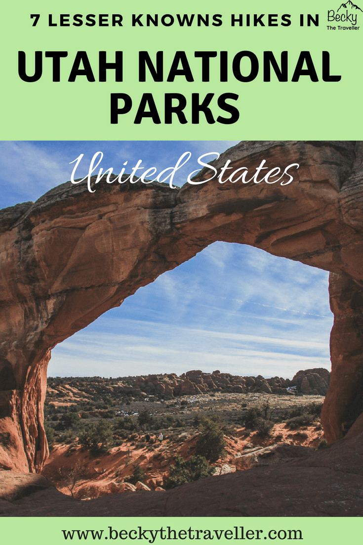 Utah hiking trails - best places to hike in Utah - Arches National Park