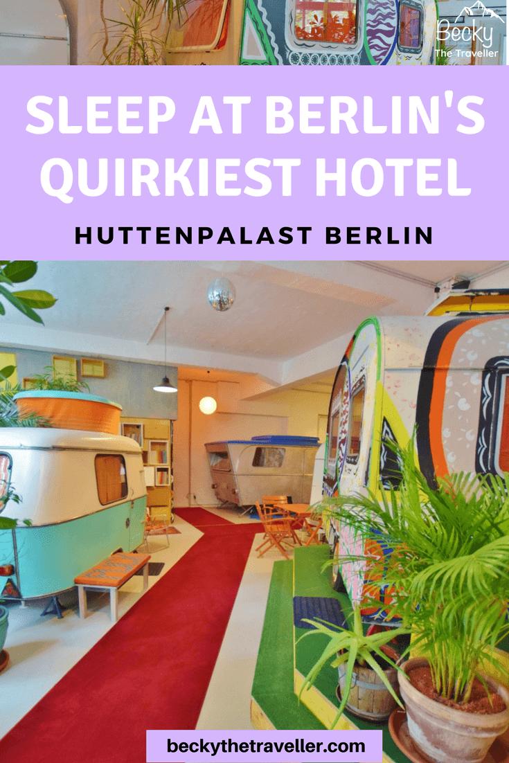 Huttenpalast Hotel Berlin review