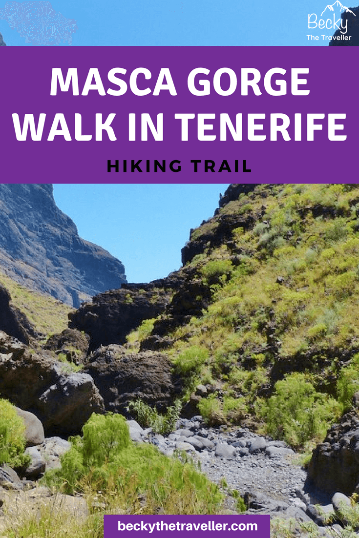 Masca Tenerife hiking adventure: Masca Gorge Walk