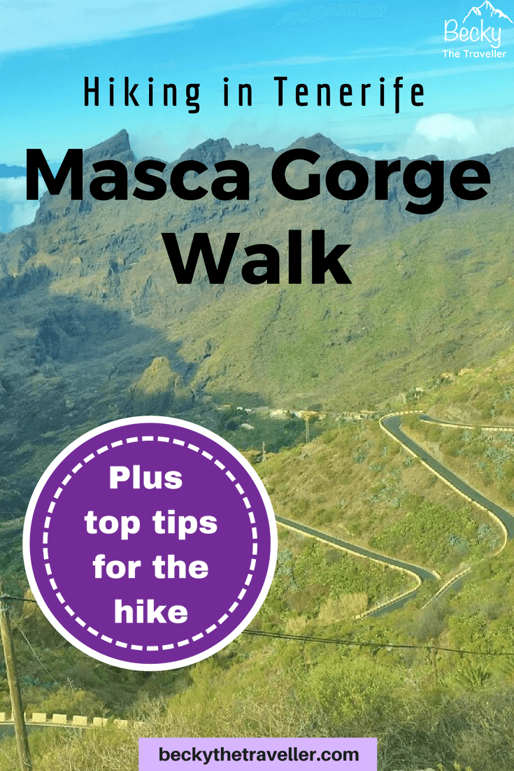 Tenerife hiking adventure: Masca Gorge Walk