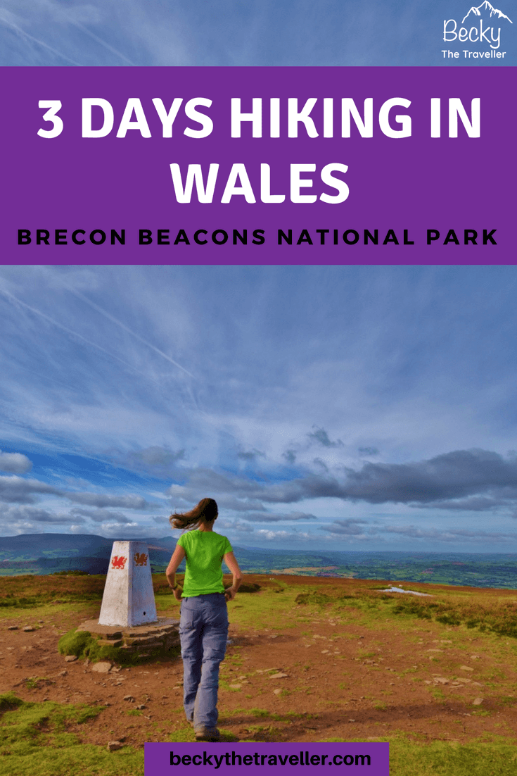 Day hikes Brecon Beacons
