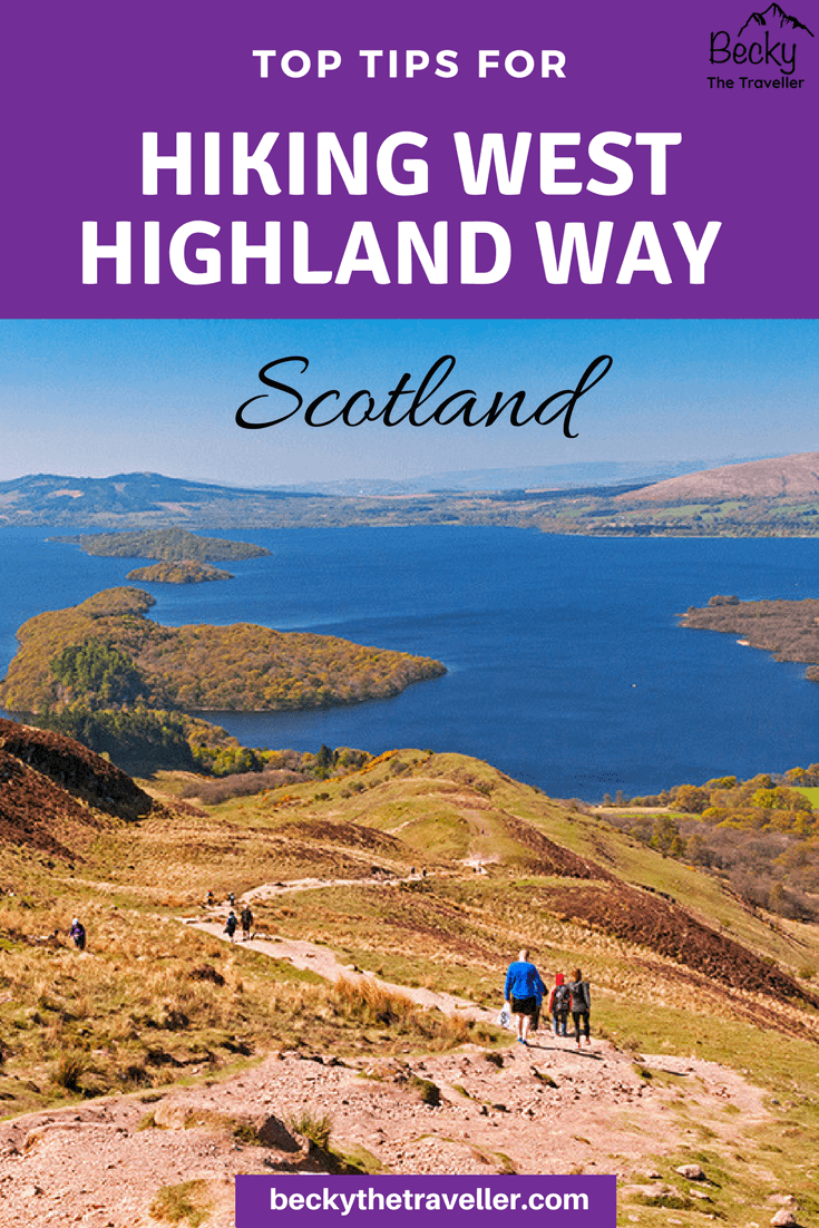West Highland Way in Scotland