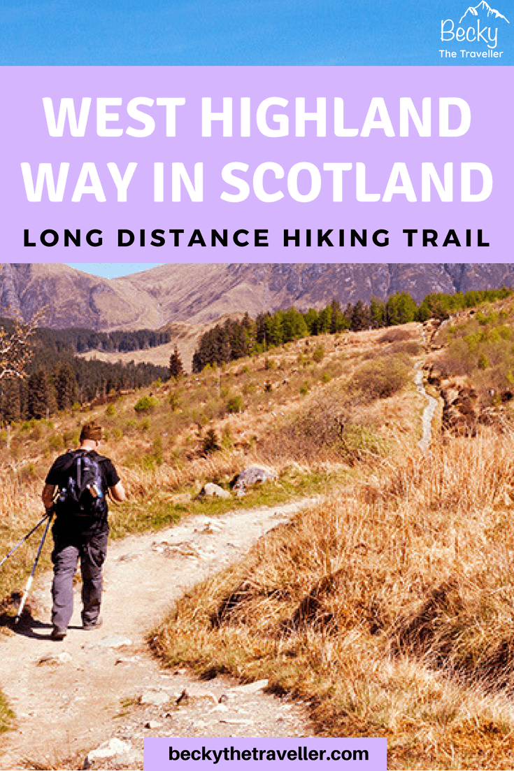 West Highland Way Walk in Scotland