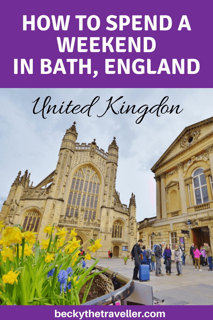 Bath itinerary - Bath City, UK